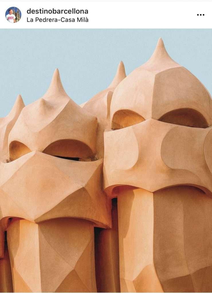 I mitici camini di Casa Milà che hanno ispirato le guardie di Star Wars