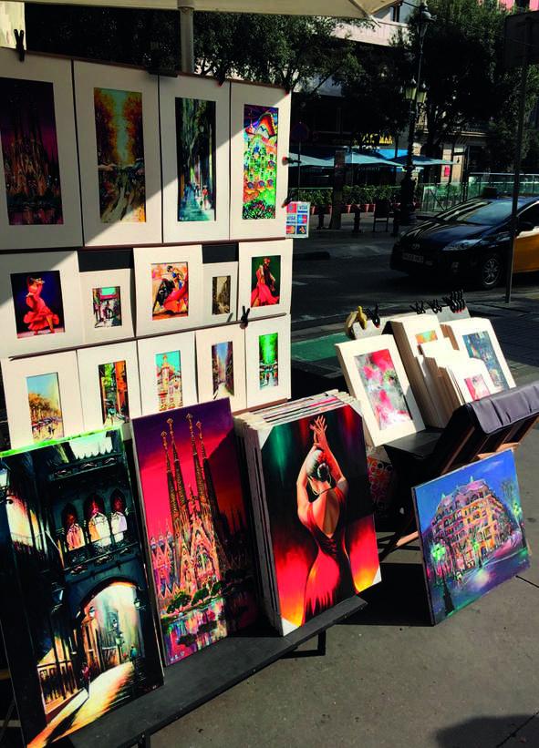 Pittori e artisti di strada
