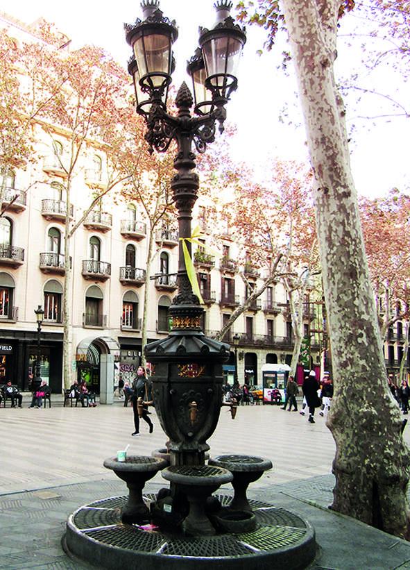 La fontana de Canaletes